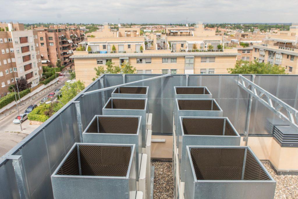 Instalaciones de ventilacion en edificios