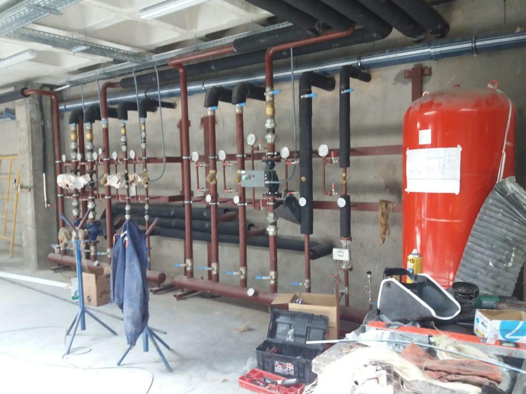 Instalaciones de climatización en oficinas